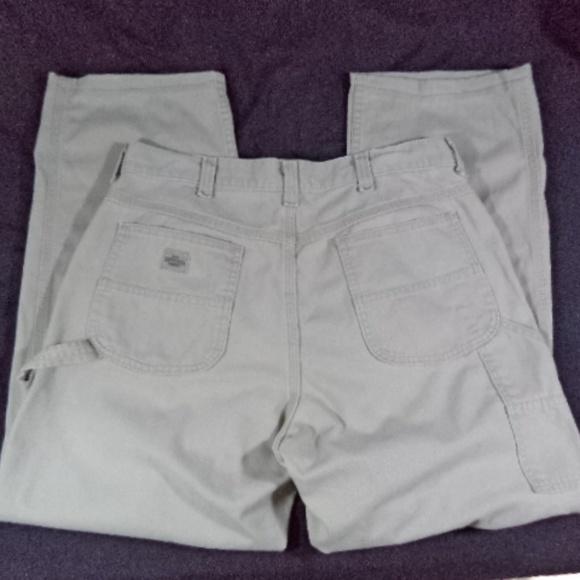 1df1789d76 Lee Dungarees Pants | Mens Khaki Carpenter Sz 34x34 | Poshmark